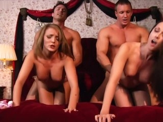 Melissa Jacobs and Charlie Laine in Busty Coeds Vs. Lusty Cheerleaders