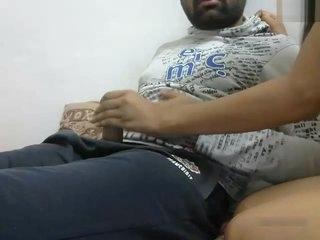 Desi Young Couple's Webcam Show