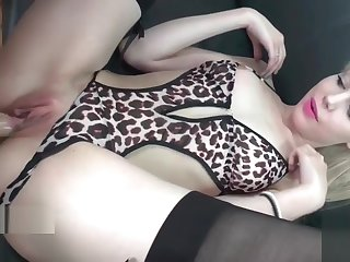 Petite french blonde hard banged for her casting couch