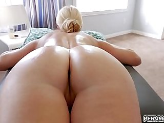He fucked her so good before laying down, spreading his legs and making her eat his asshole!