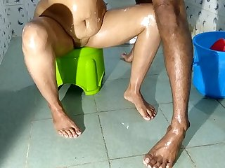 Sluty Indian Wife Fucked By Devar In Bathroom Sex
