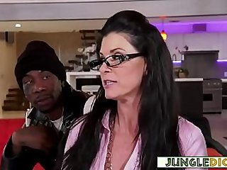 Mature Dr. Summer Gangbanged By Black Studs Half Her Age
