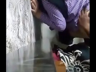 School girl enjoying doggy style with bf