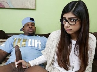 MIA KHALIFA - She's Never Tried Big Black Dick Before, So She Asks Rico Strong
