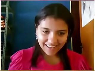 desi cute teen showing on webcam