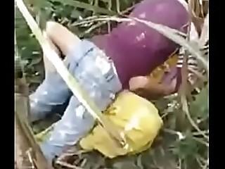 Desi Randi ki jabordost chudai in jangol for two boy  in forest