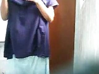 Desi Naked girl  in shower room