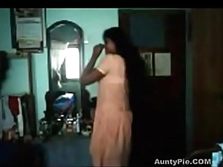 Indian Teen Gets Naked For Her Man