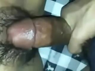 Big Cock Home Alone Girlfriend Fucked Hard Closeup Pussy
