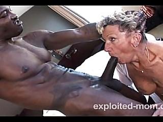 Fucking granny pussy so hard