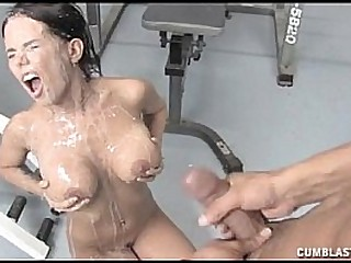 Cumblast In The Gym