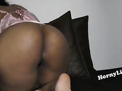 Horny South Indian bird with big ass masturbating